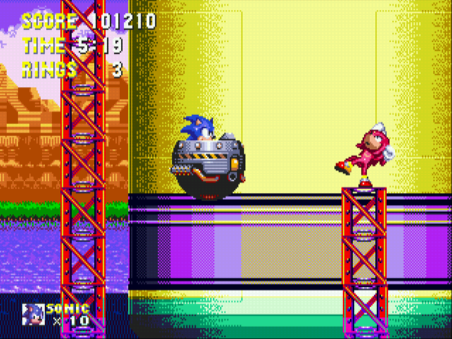 Sonic the Hedgehog 3 - Thats the end of Kunkles  - User Screenshot